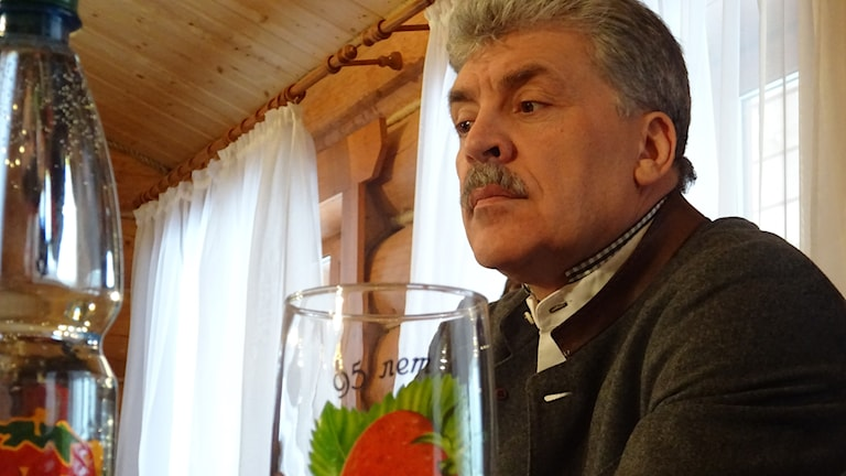 57-årige Pavel Grudinin är jordgubbsdirektören, som blivit kommunistpartiets presidentkandidat trots att han inte är kommunist.