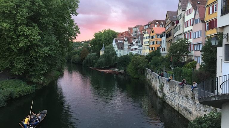 Universitetsstaden Tübingen liksom delstaten Baden-Württemberg  styrs av De gröna, som hoppas bli del av en koalitionsregering efter förbundsdagsvalet 24 september.