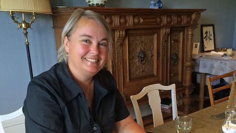 Rapportförfattaren Aggie Öhman på föreningen Prestationsprinsen.
