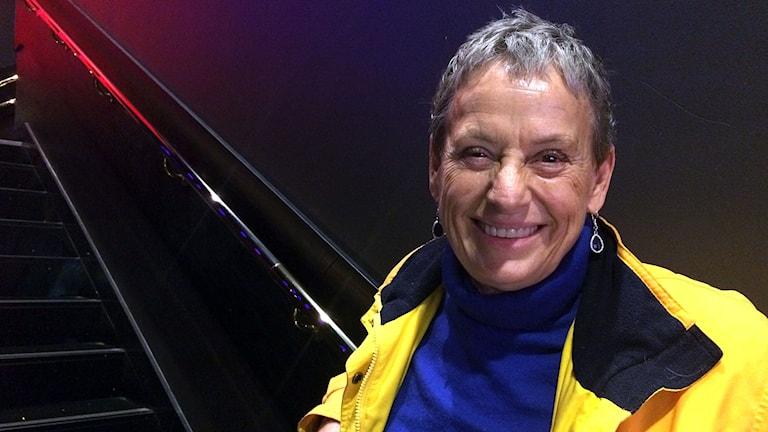 Karin Nilsson är bara ett drygt år i sin statistkarriär men har redan hunnit vara med i ett femtiotal produktioner.