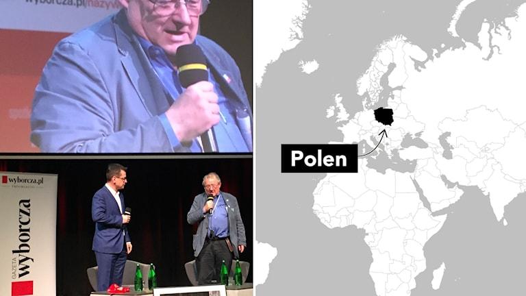 Journalistveteranen Adam Michnik var med och grundande Gazeta Wyborcza, Polens första fria tidning bakom järnridån.