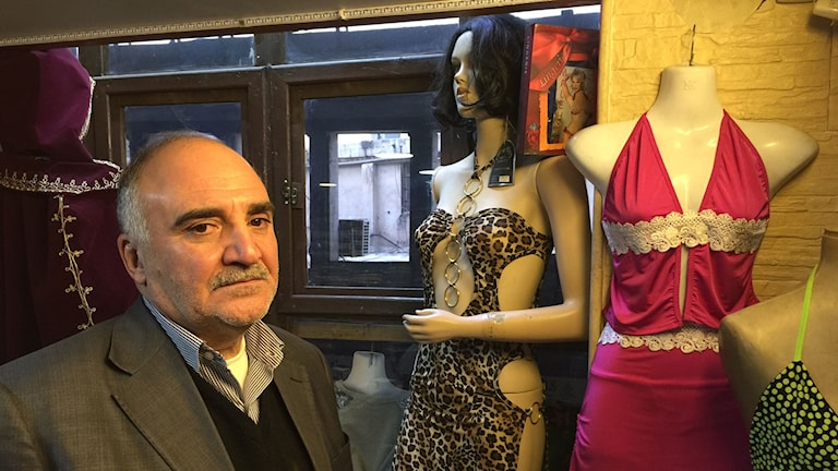 Mesbah Mouselli, VD för underklädeskedjan med samma namn.