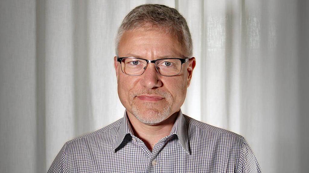 Tomas Hedman. Foto: Lars-Gunnar Olsson/Sveriges Radio.
