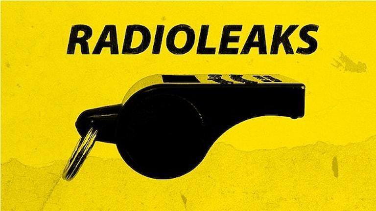 Radioleaks logga oktober 2013 pipa visselpipa