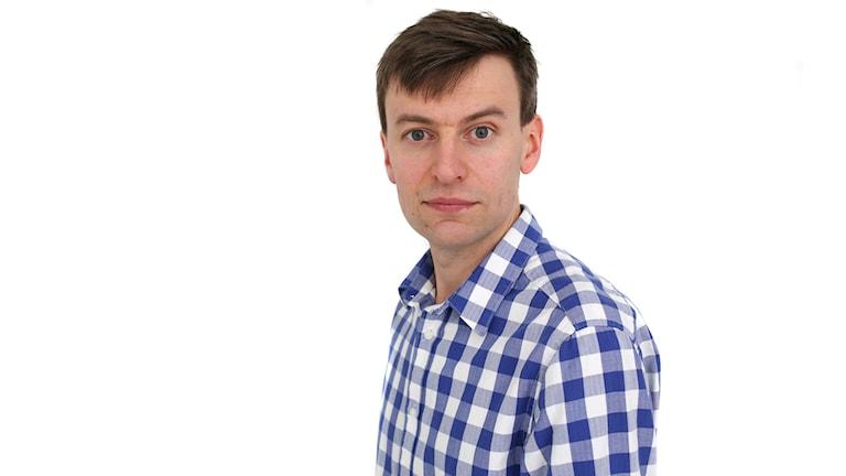 Magnus Hermansson. Foto: Sveriges Radio.
