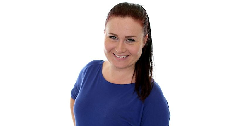 Sara Johansson. Foto: Sveriges Radio.