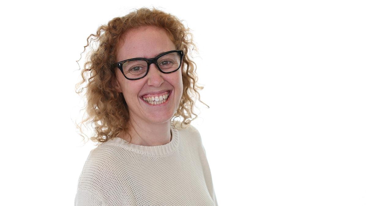 Mari Stenström. Foto: Sveriges Radio.