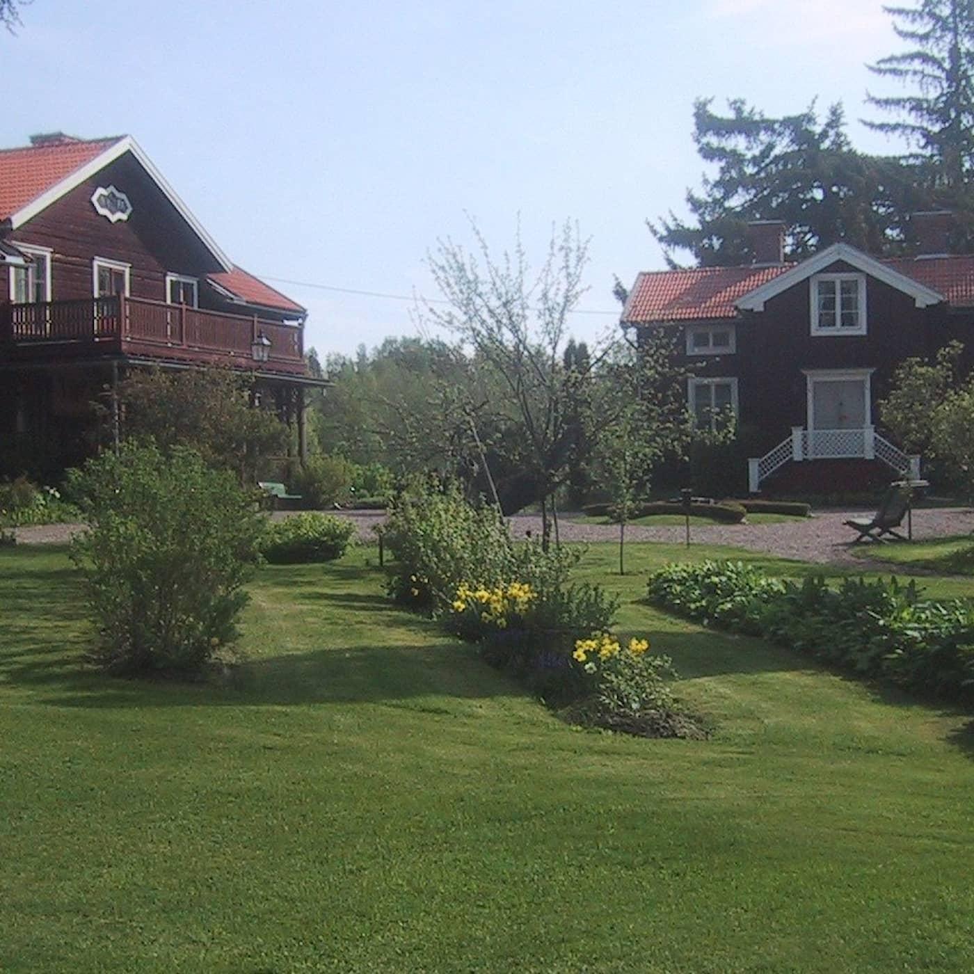 Tysk trädgård i Dalarna