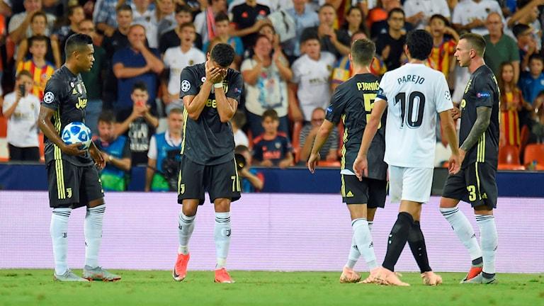 Ronaldo i tårar.