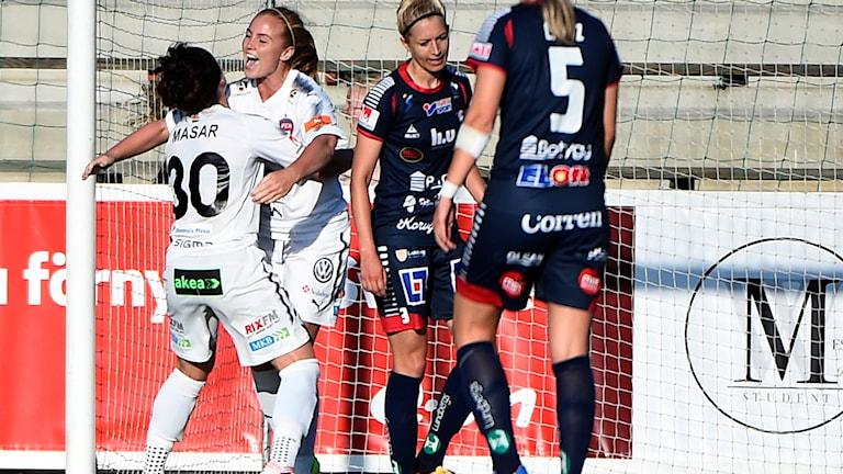 Rosengård fixade en poäng mot Linköping.