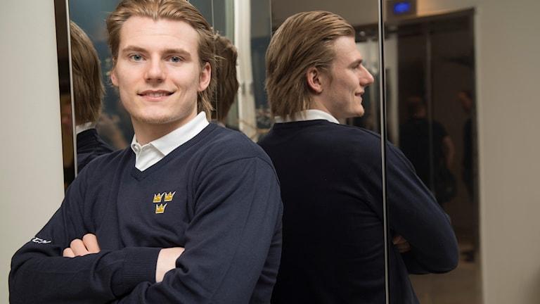 Lias Andersson gör sitt andra JVM.