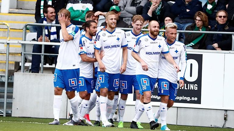 IFK Norrköping jublar mot Hammarby.