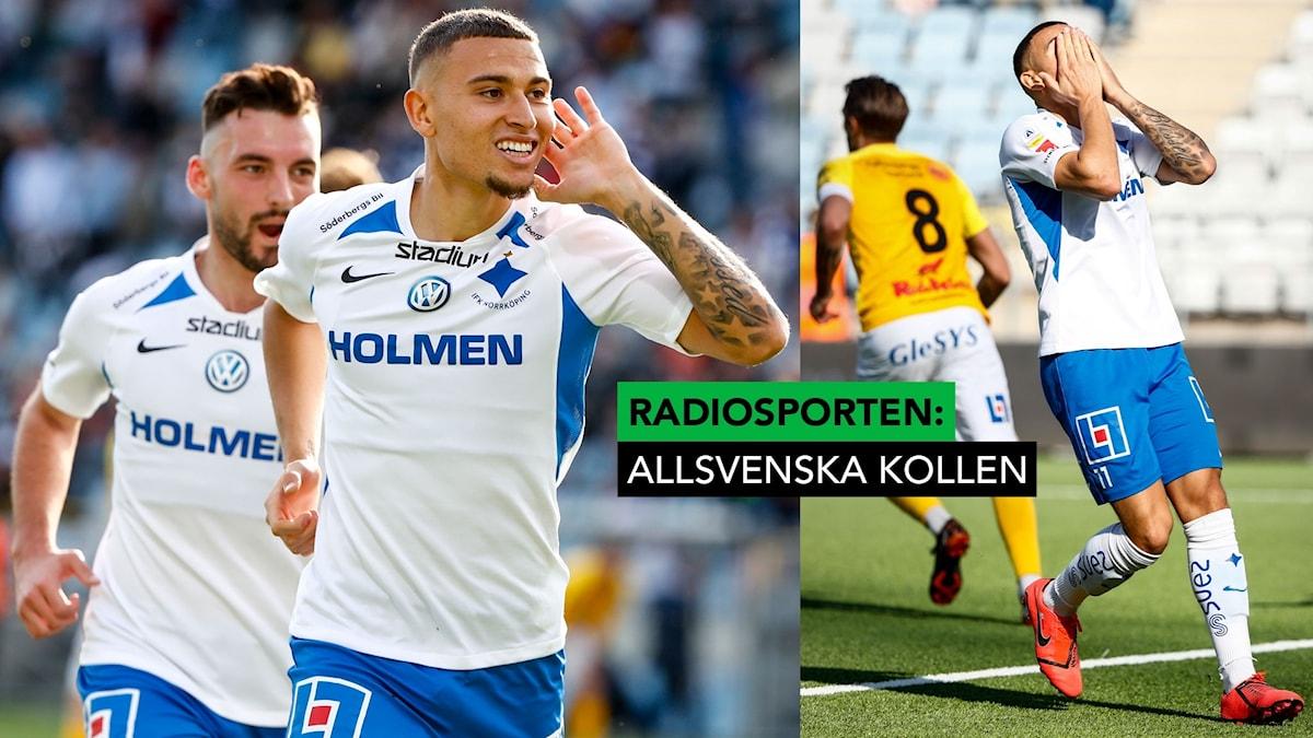 2019 Jordan Larsson i IFK Norrköping. Foto: Stefan Jerrevång / TT