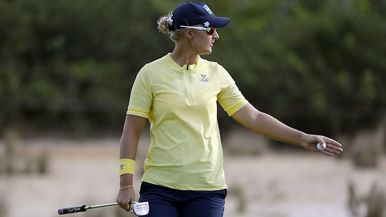 20160820 Anna Nordqvist under den sista OS-dagen. Foto: Chris Carlson/AP photo