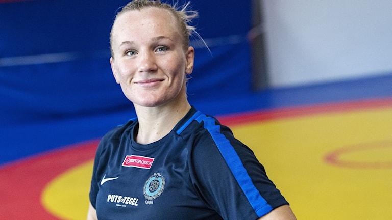 Johanna Lindborg på mattan