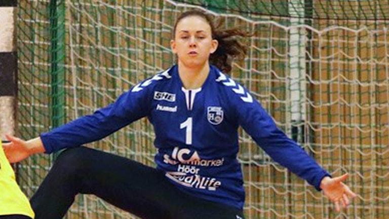 H65-målvakten Jessica Ryde. Foto: Nils-Åke Åkesson.
