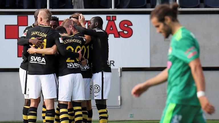 AIK-jubel.