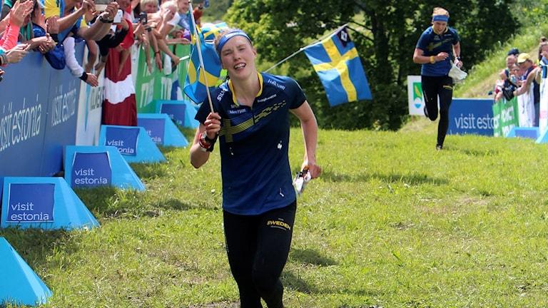Tove Alexandersson tar VM-guld i Estland