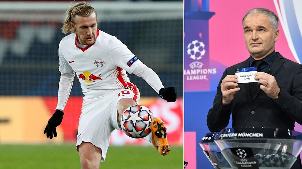 Emil Forsbergs Leipzig ställs mot Liverpool