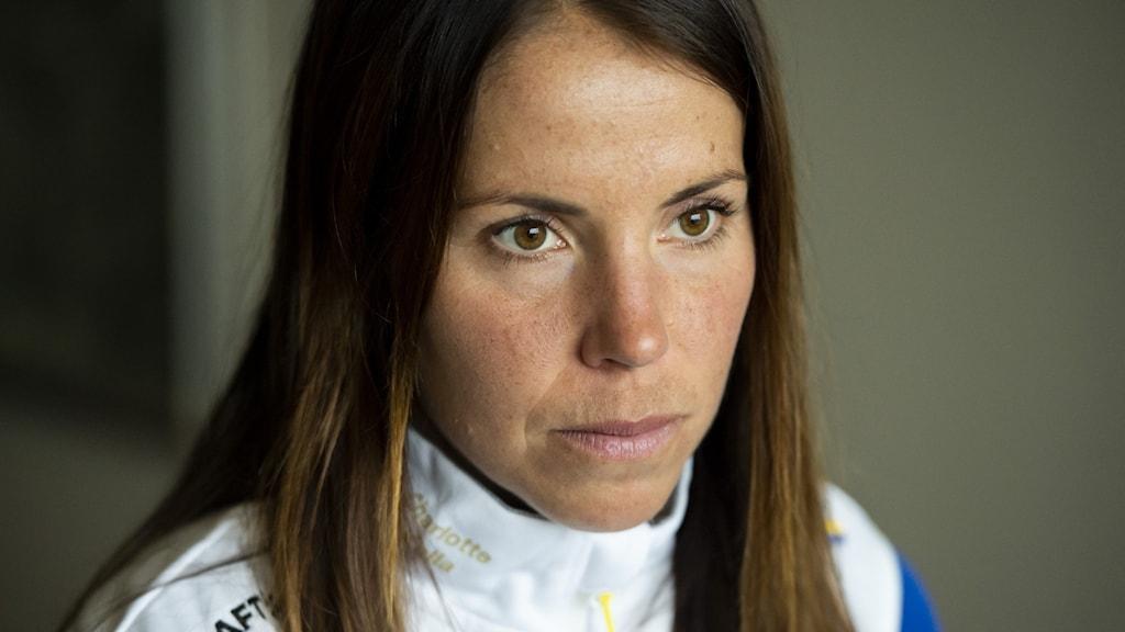 Charlotte Kalla. Foto: Erik Mårtensson/TT