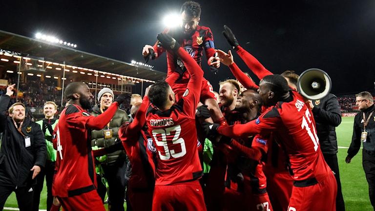 Östersund är vidare från gruppspelet i Europa League.