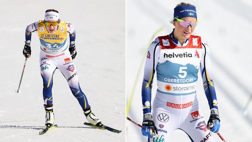 Ebba Andersson och Frida Karlsson.
