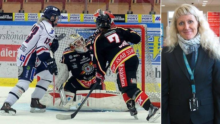Ann-Christine Wiklund är ledamot i Luleå hockeys styrelse.