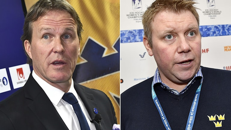Johan Garpenlöv och Olof Östblom.