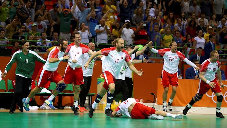 Danskt jubel efter OS-guldet
