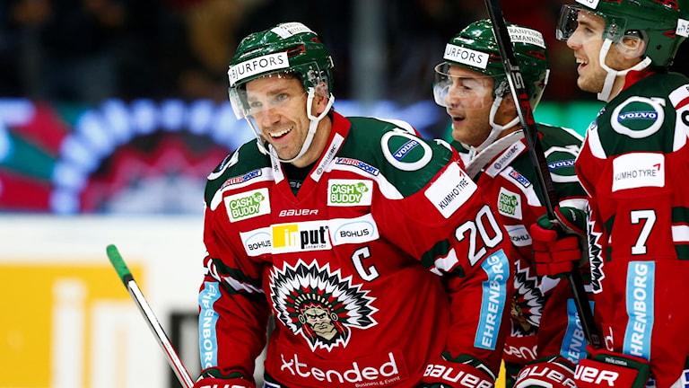 Joel Lundqvist, lagkapten i Frölunda.