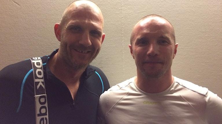 Andreas Bergwall och Anders Svensson.
