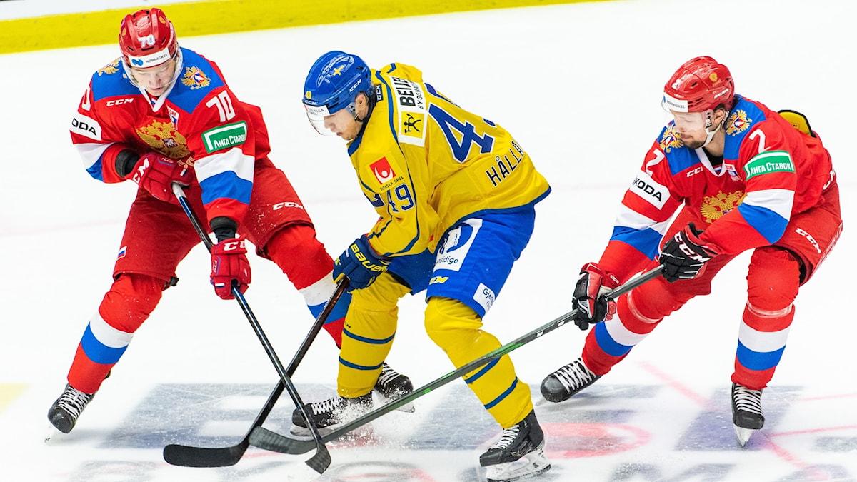 Sverige-Ryssland, ishockey.