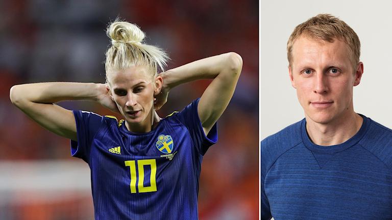 Sofia Jakobsson (tv) och Richard Henriksson.