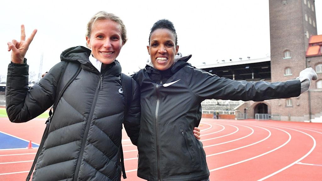 Sara Lahti och Meraf Bahta
