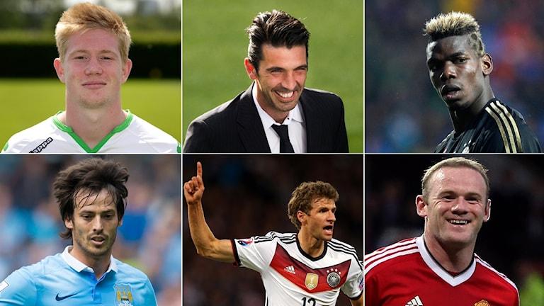 Collage - vilken fotbollsspelare är du?