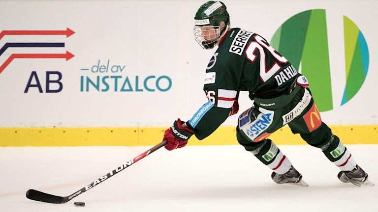 Rasmus Dahlin spelar till vardags i Frölunda.