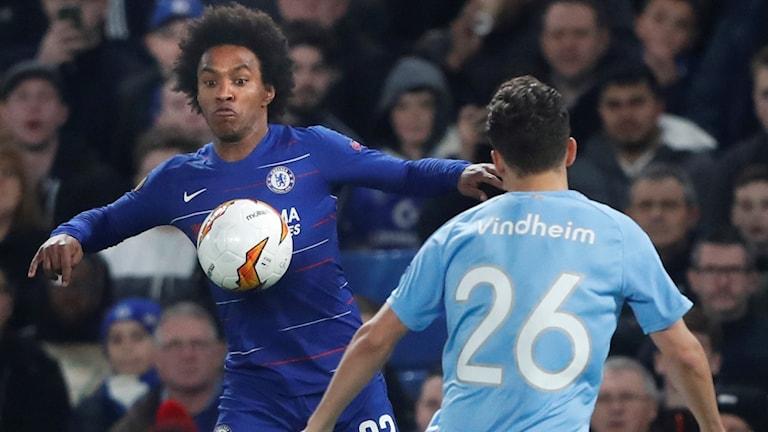 Chelsea mot Malmö.