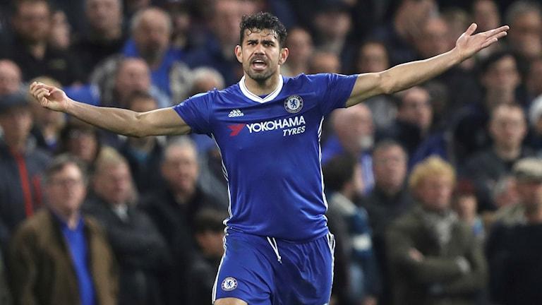 Diego Costa är fortfarande kvar i Brasilien.