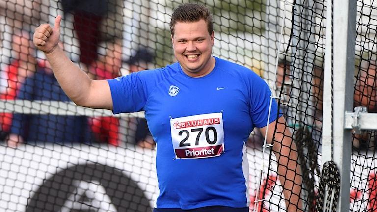 Daniel Ståhl ler åt SM-guldet