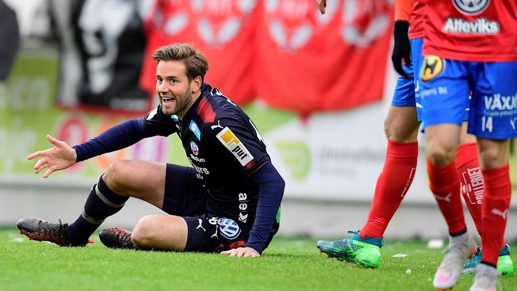 Helsingborg tappade 4-1 till 4-4 mot Öster.