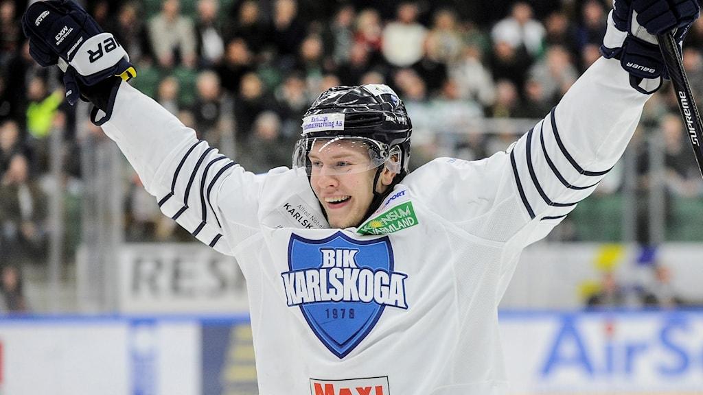 Victor Ejdsell har tidigare spelat fyra juniorlandskamper.