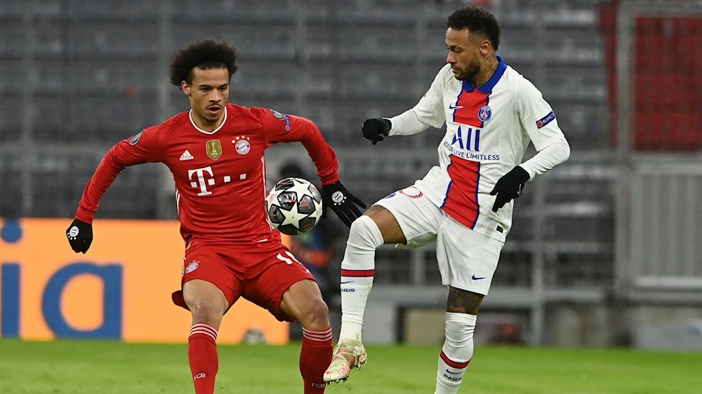 Paris Saint Germain mot Bayern München.