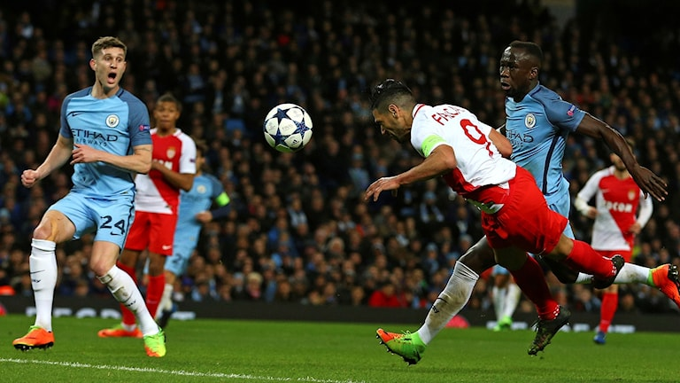Monaco-Manchester City i CL.