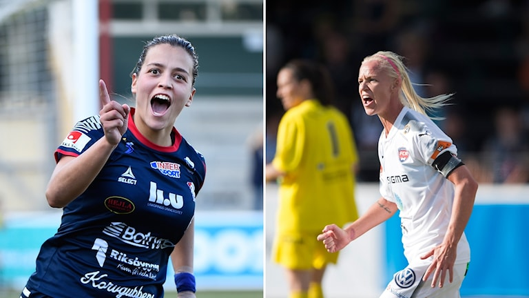 Linköping och Rosengård spelar i Champions League i kväll.