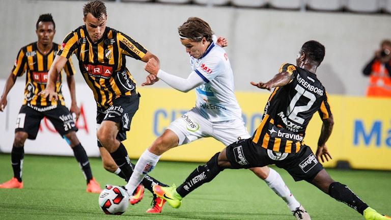 Gefle spelade 2-2 mot Häcken.