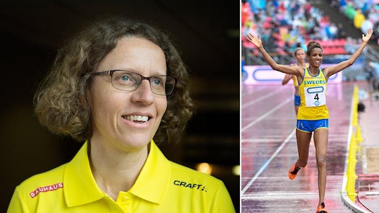 Förbundskapten Karin Torneklint ser gärna att Meraf Bahta dubblerar på VM.
