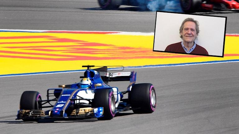 Marcus Ericsson vid F1-loppet i Sotji