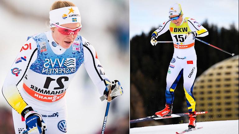 Jonna Sundling och Hanna Falk.
