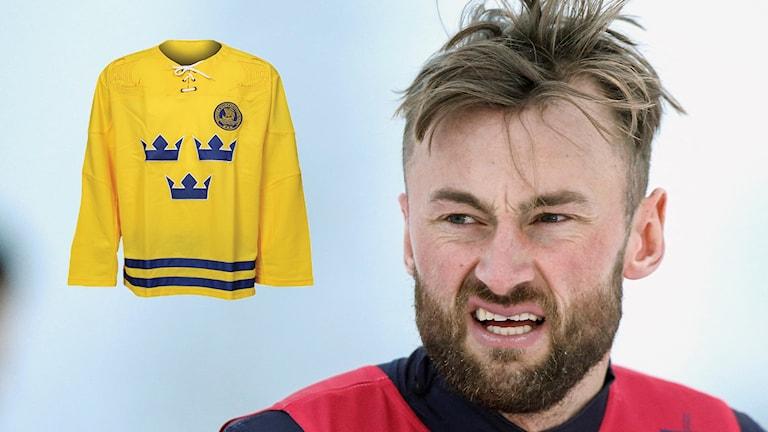Petter Northug kommer tävla i en Tre kronor-inspirerad dräkt.