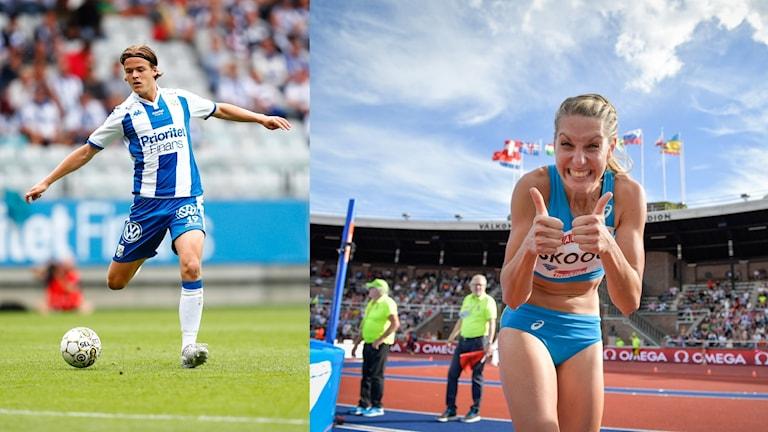 IFK Göteborg möter AIK i kväll och Sofie Skoog hoppar i damernas höjdhoppskval.